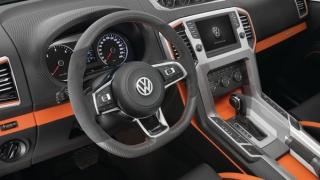 Volkswagen показал салон обновленного пикапа Amarok