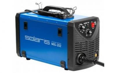 Полуавтомат сварочный Solaris MIG-202 (MIG-MAG/FLUX)