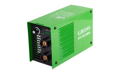 Инвертор сварочный GROSS GR-200-MMA