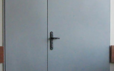 "Дверь металлическая двухстворчатая купить в Минске в ОДО ""Столс"""