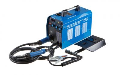 Полуавтомат сварочный Solaris TOPMIG-223 (MIG-MAG/FLUX/MMA) с горелкой 5м