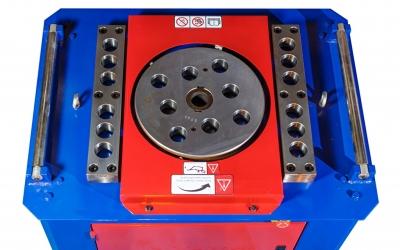 Станок для гибки арматуры GW50 с доводчиком