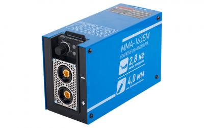 Инвертор сварочный Solaris MMA-163EM + AK (230В,10-160А)