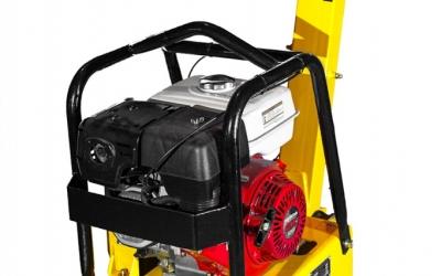 Реверсивная бензиновая виброплита VPG-160 (Honda GX 270) с баком для воды