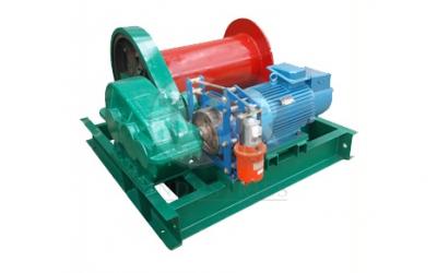 Лебедка электрическая TOR (JM) г/п 1,0 тн Н=120 м (б/каната)