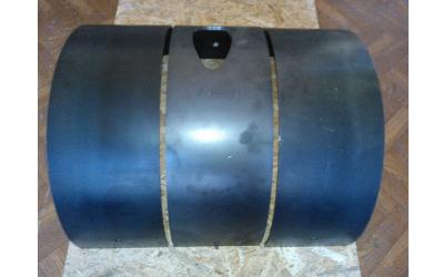 Защитная пластина, без выхода, РМ, толщ.4мм