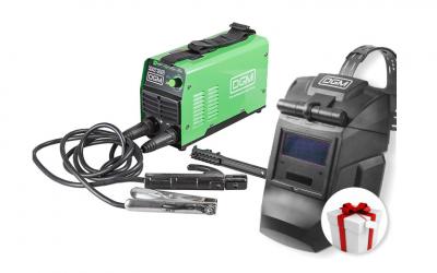 Инвертор сварочный DGM ARC-250 АКЦИЯ + Щиток сварщика DGM V2500
